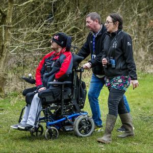 Visiting Pennngton Flashes (c) Paul Heyes